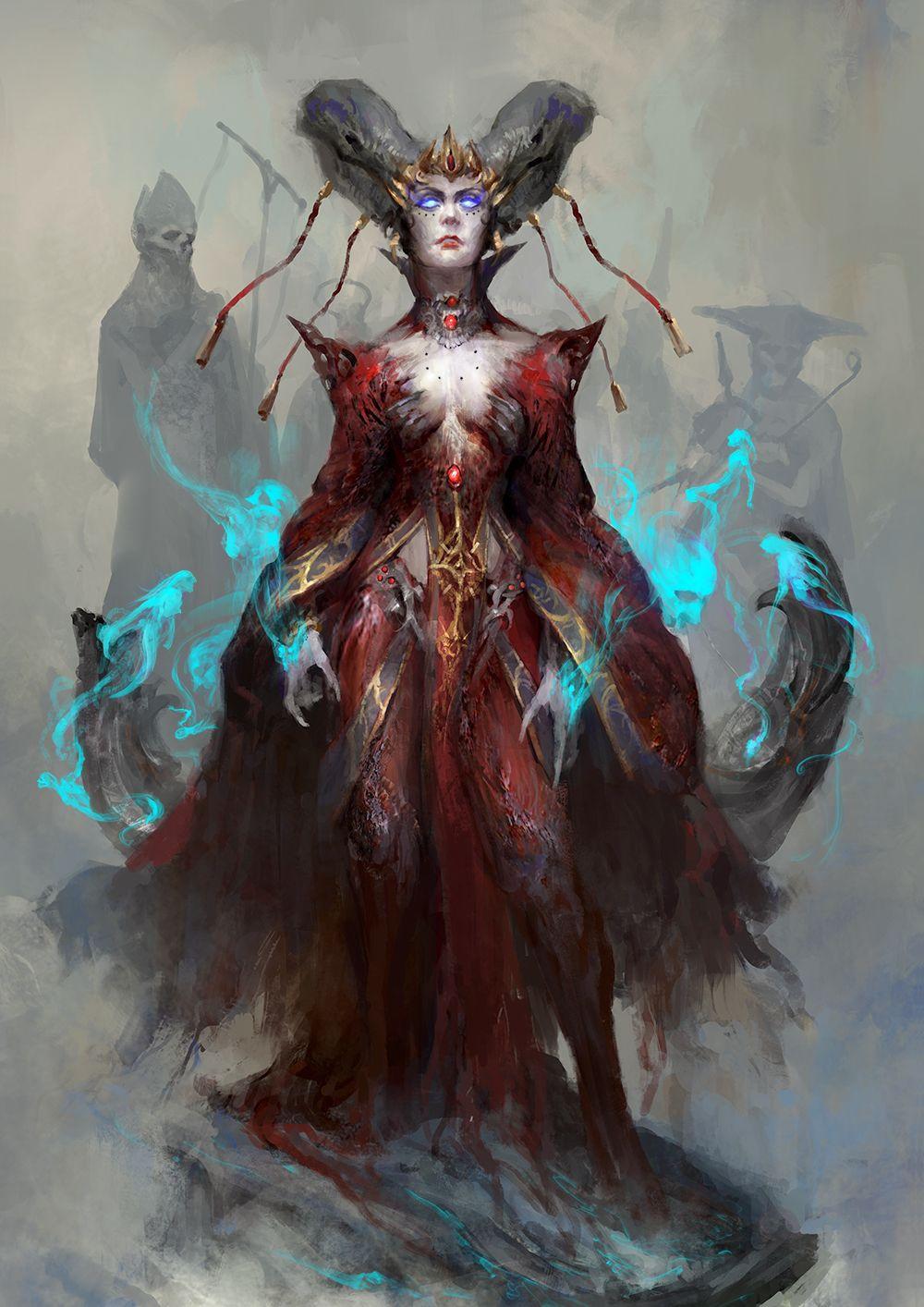 gethsemoni by thedurrrrian female tiefling demon devil