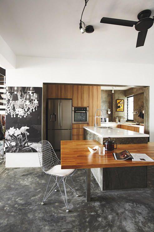 10 Space Saving Dining Area Ideas Home Decor Singapore Apartment Interior Design Dining Room Design Home Decor