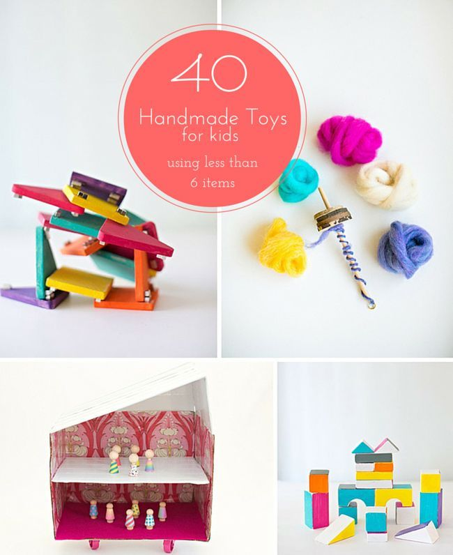 Nice Handmade Craft Ideas For Kids Part - 10: Great List Of Easy DIY Handmade Toys To Make Kids This Holiday Season, All  Requiring
