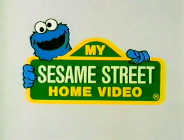 My Sesame Street Home Video Sesame Street Signs Video R