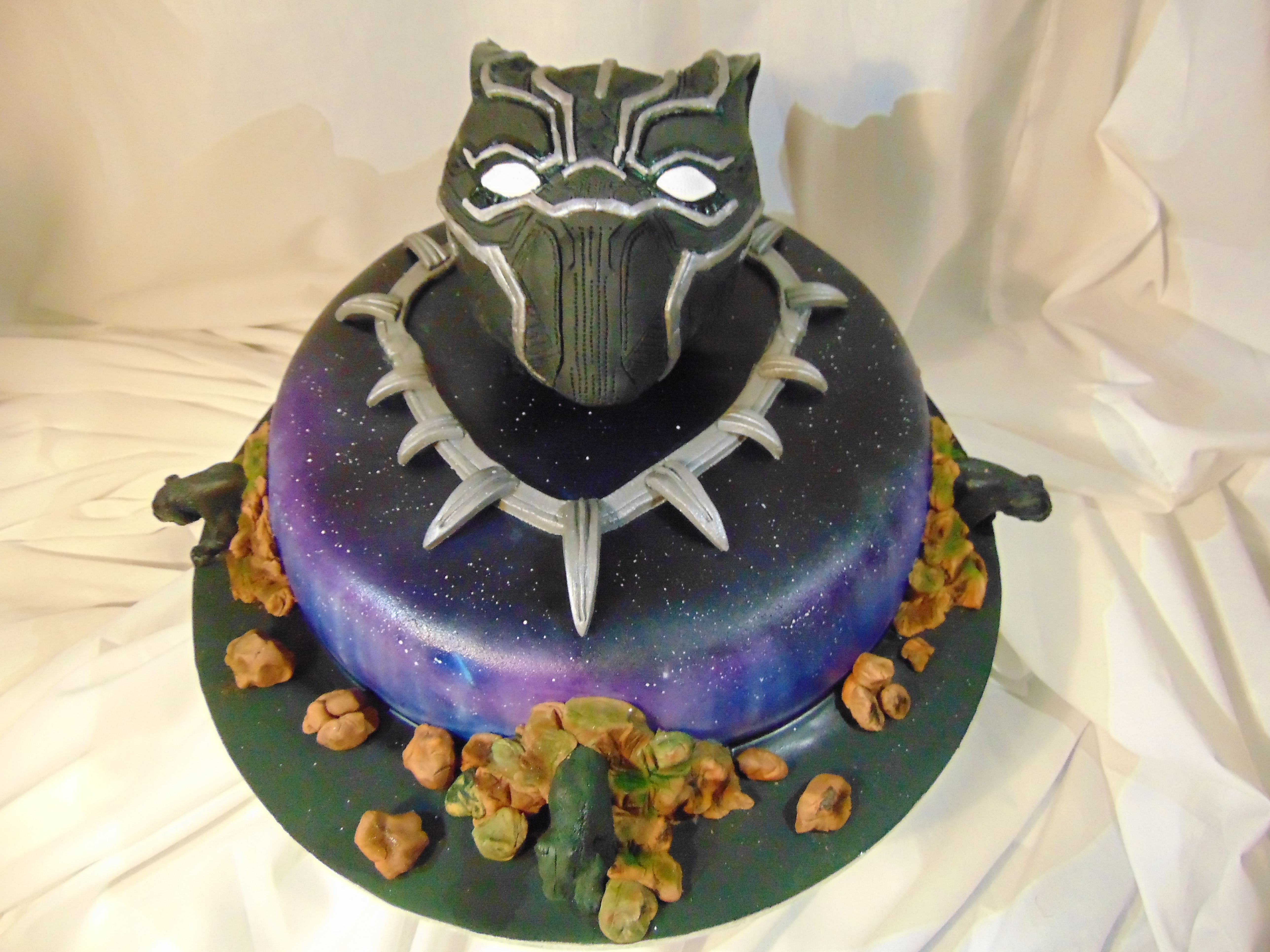 Black Panther Cake Ideas With Images Black Panther Party