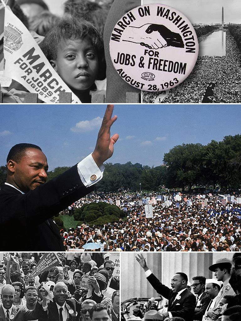 Wednesday, August 28, 1963: The March On Washington For