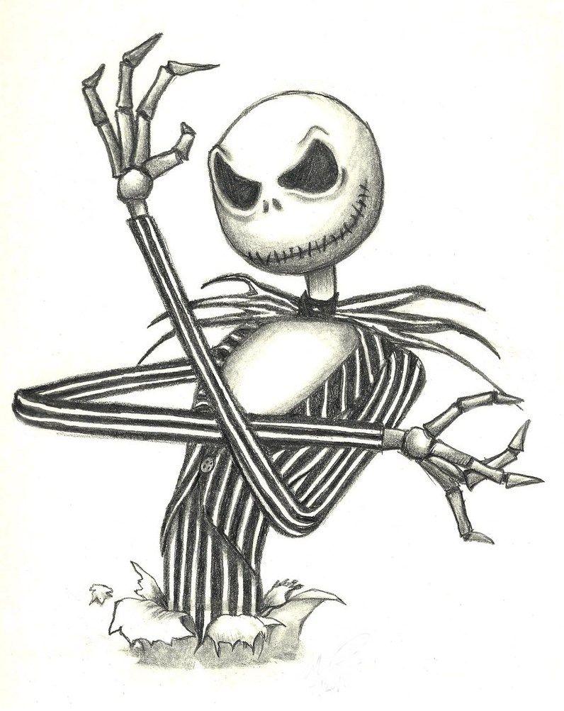 Jack Skellington Tatuaje De Jack Arte De Tim Burton Arte Romantico