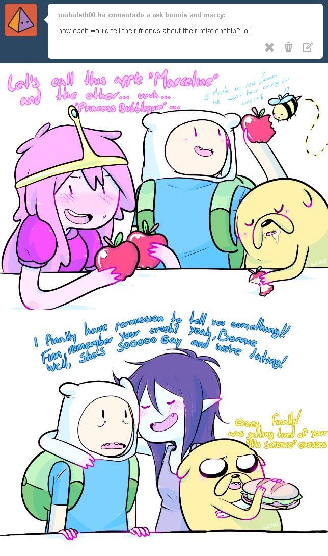 Bubbline By Seto2 Marceline X Bubblegum Adventure Time