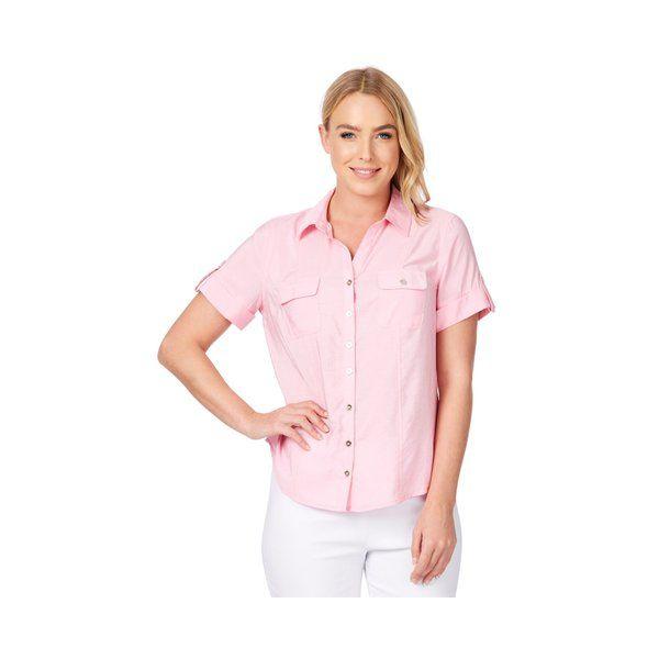Noni B Evans Shirt   - Womens - PRISM PINK