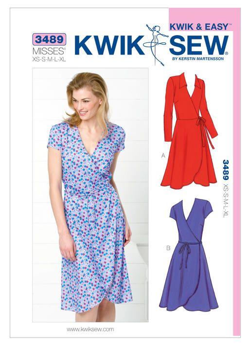 K3489 | Kwik Sew Patterns | Sewing Patterns | create. | Pinterest ...