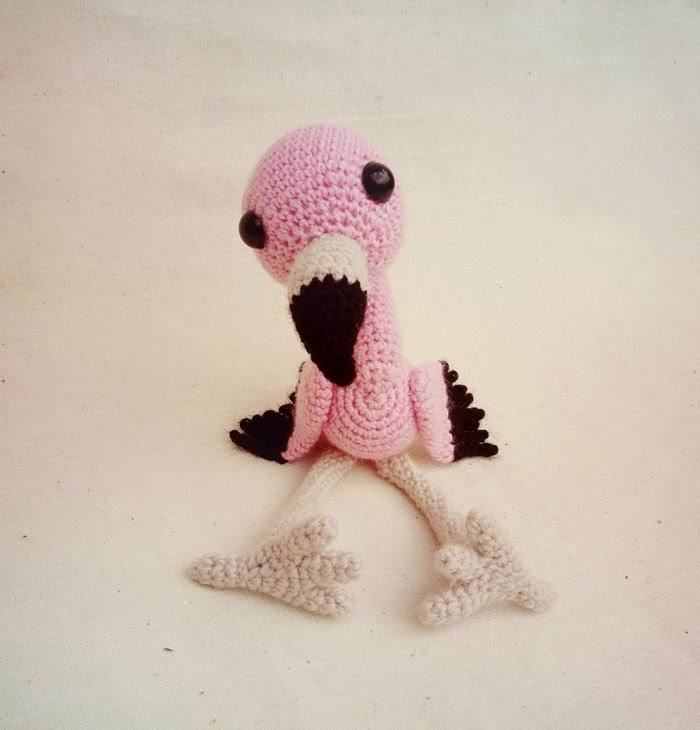 Crochet baby flamingo amigurumi pattern   Crocret   Pinterest