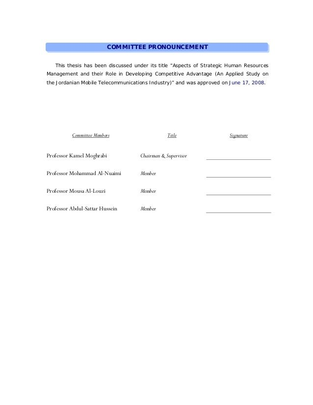 hrm dissertations dissertation topics human resource thesis - agent contract template