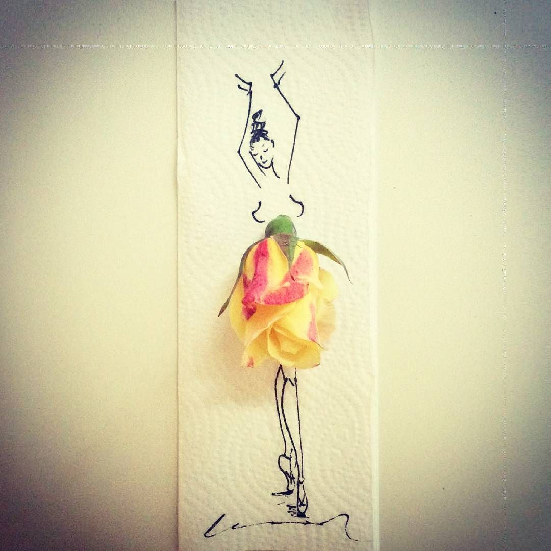 olmasın mı benim de böyle  ballerina #art #artist #artistic #artists #arte #dibujo #myart #artwork #illustration #graphicdesign #graphic #color #colour #colorful #painting #drawing #drawings #markers #paintings #watercolor #watercolour #ink #creative #sketch #sketchaday #pencil #beautiful by gulay_ozcan