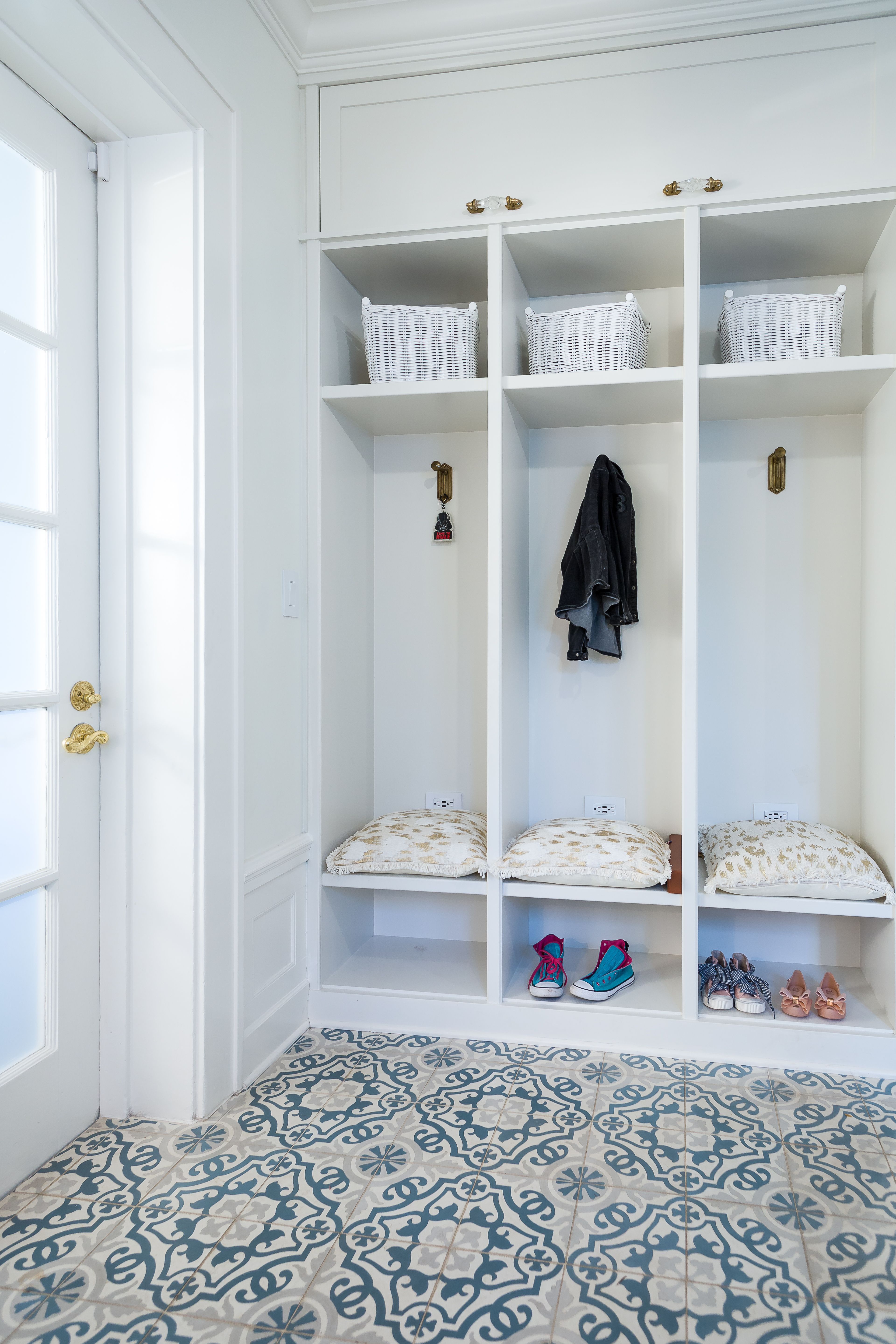 Love the flooring these clients selected for their mud room in ...