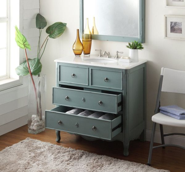furniture stunning antique blue bathroom vanities with solid wood