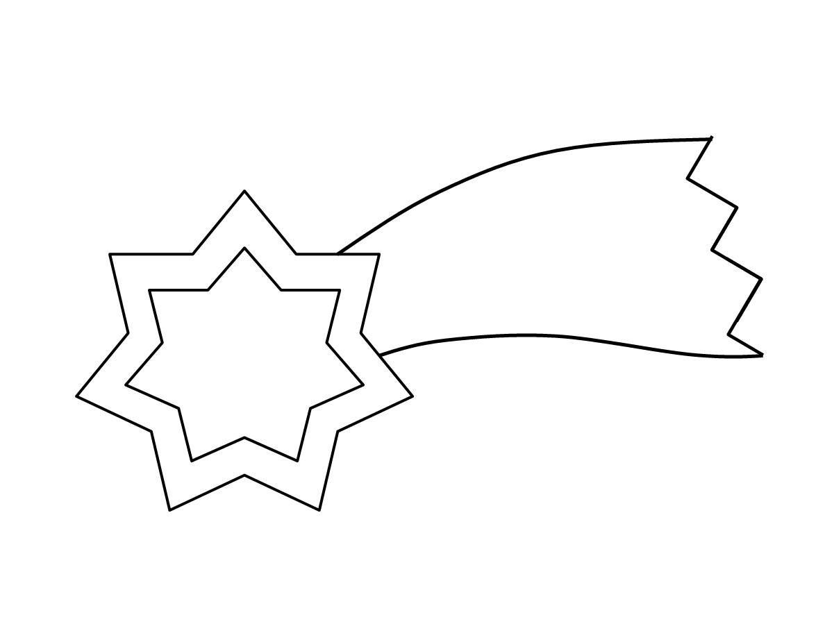 Výsledek obrázku pro kometa omalovanky
