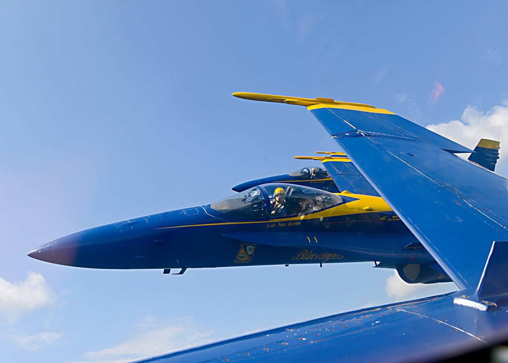 The Blue Angels return home for the NAS Pensacola