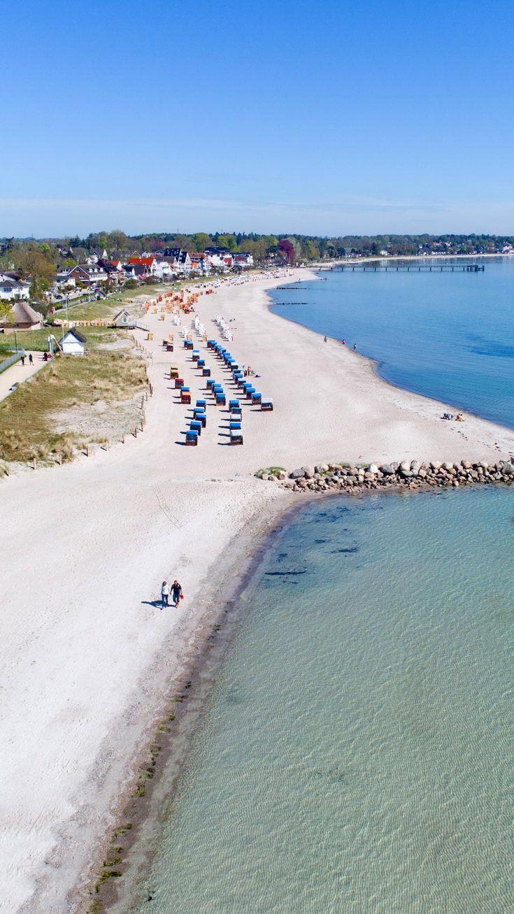 Urlaub am Strand in Haffkrug an der Ostsee. (mit Bildern