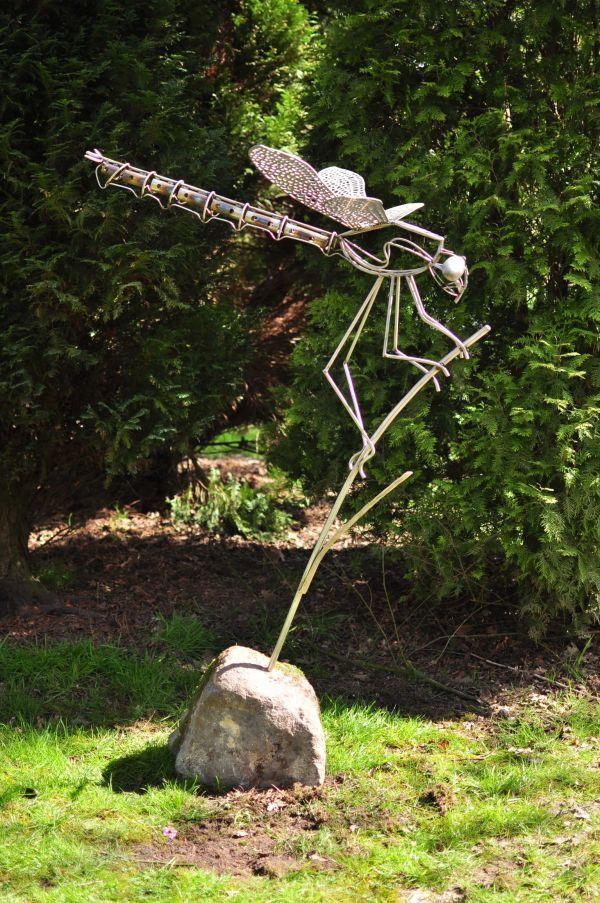 Stainless Steel Garden Or Yard Outside And Outdoor Sculpture By Artist David Freedman Titled
