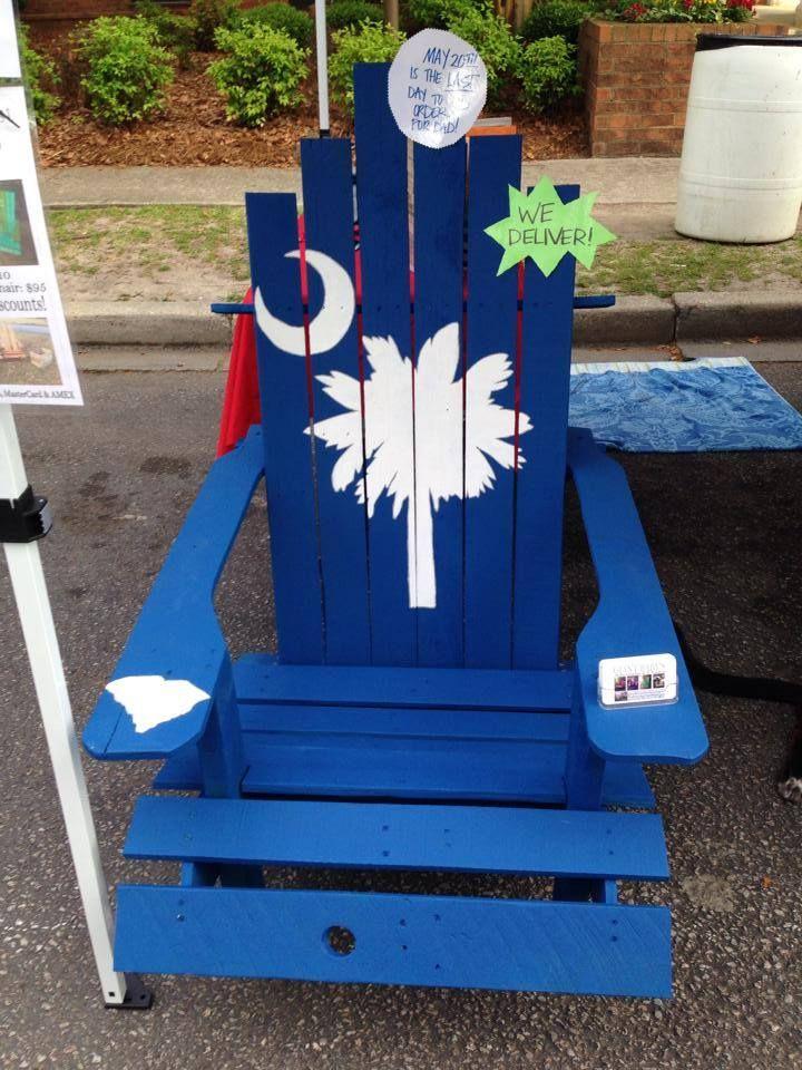 Sc Palmettomoon Adirondack Chair Adirondack Chair Adirondack