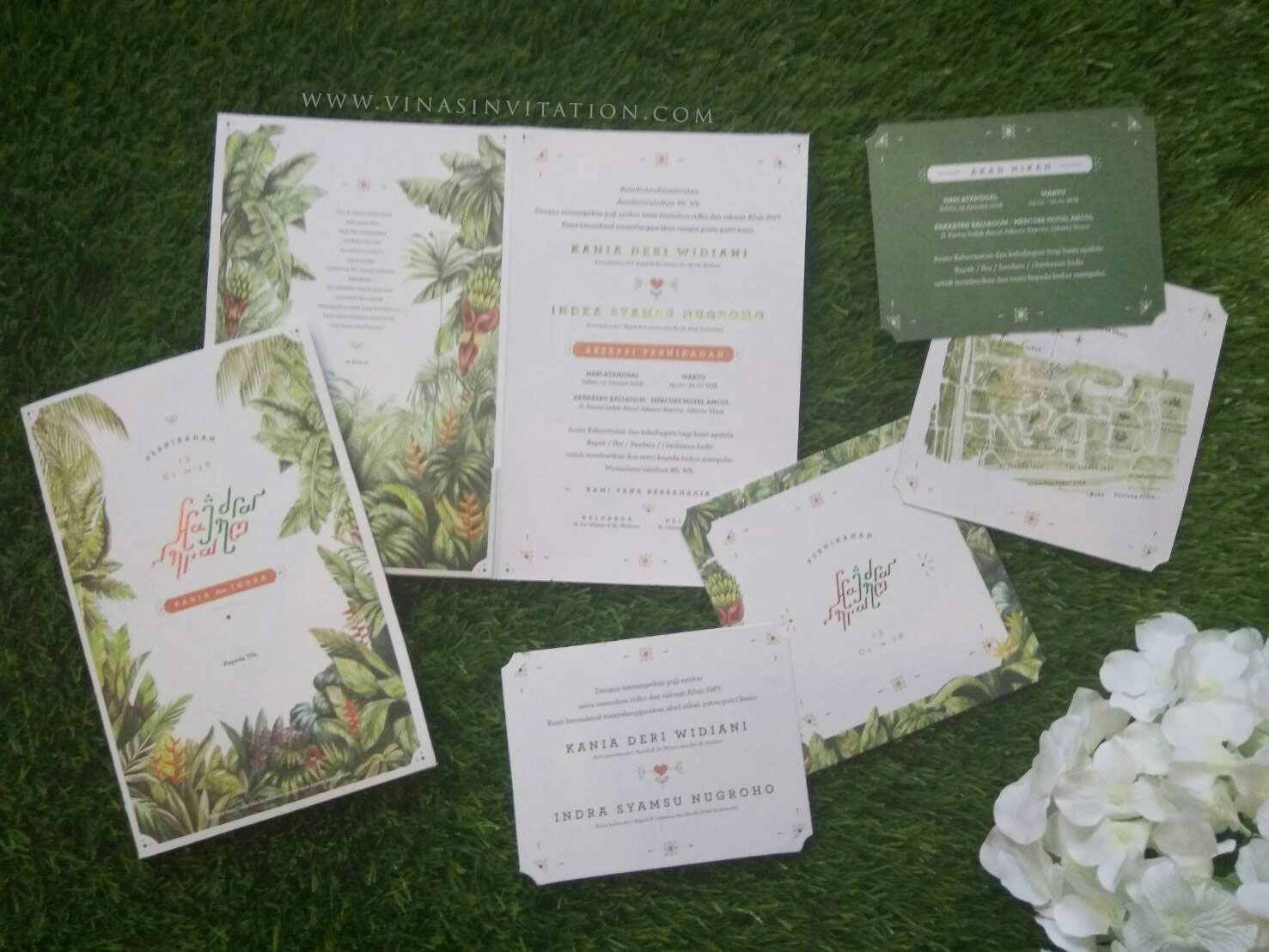 Vinas invitation. wedding invitation. bridestory. weddinginvitation ...