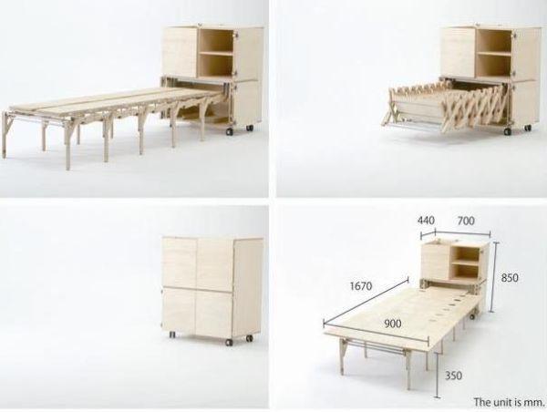 Muebles inteligentes diseñados por genios   Muebles inteligentes ...