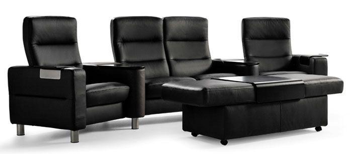Stressless Recliner Chair Ekornes Scandinavian Comfortable