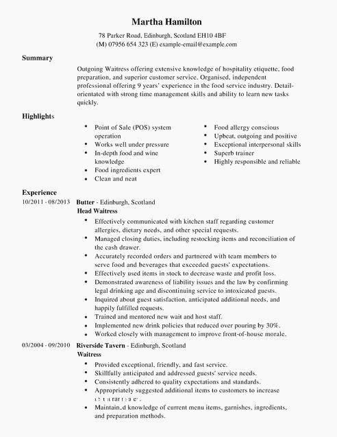 67 best of gallery of resume examples career highlights
