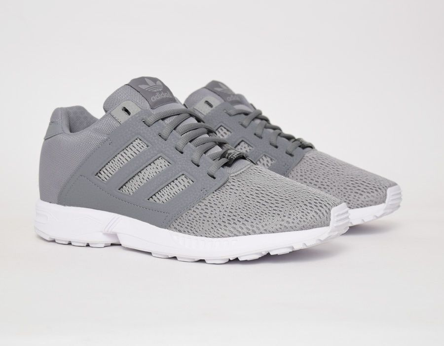 Running shoes · #adidas ZX Flux 2.0 Grey #sneakers