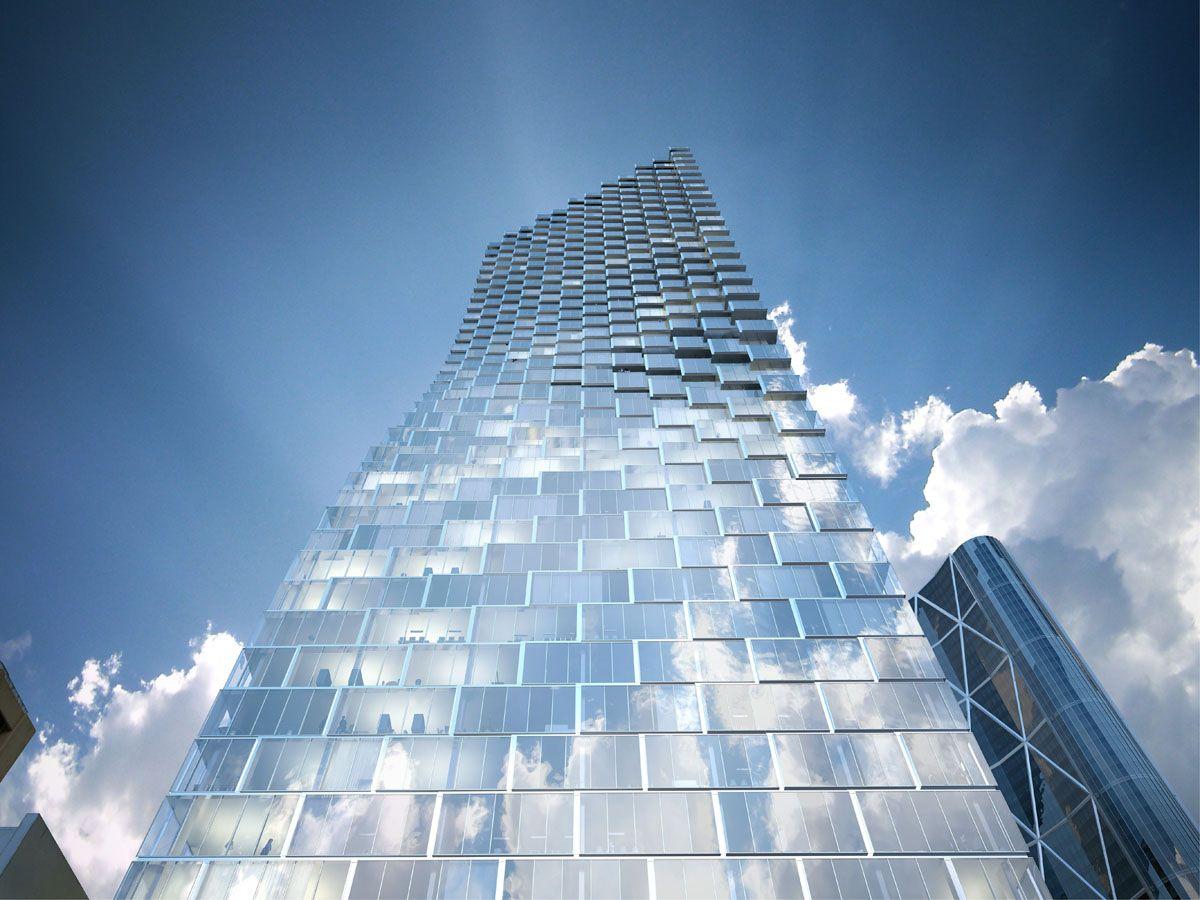 Telus Sky Landmark Tower Big C Image Big Fassade Architektur
