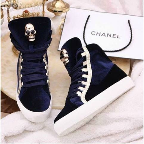 1b168332a4d43 holy crud I love chanel and then chanel + these sneakers ...