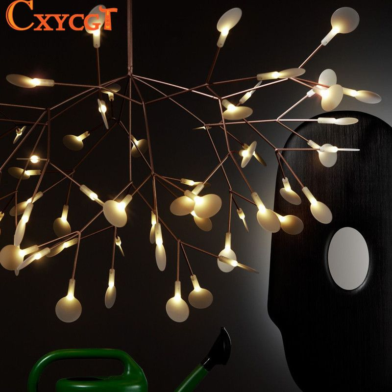 Moderne LED Grote Tak Boom Kroonluchters Verlichting Armatuur Lamp ...