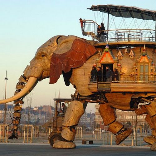 The Great Artificial Elephant Click for link to see video