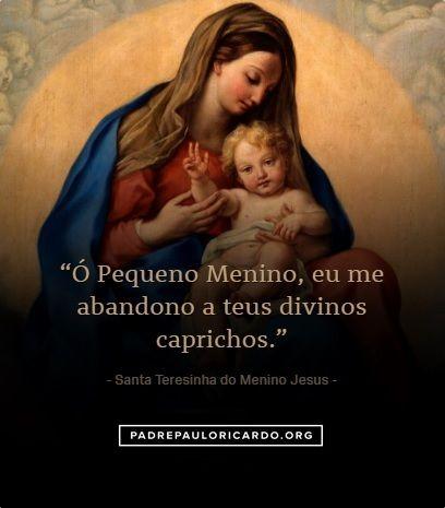 Santa Teresinha Do Menino Jesus E Da Sagrada Face Frases Keepers