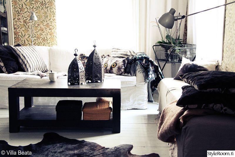 olohuone,ikea,kodikas,koristetyynyt,sohvaryhmä
