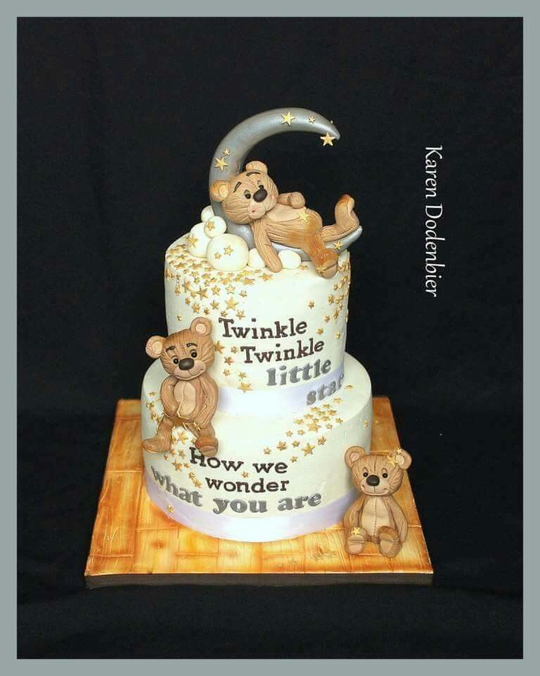Pin by Karen Dodenbier on Dutch Cakes! | Baby cake, Teddy ...