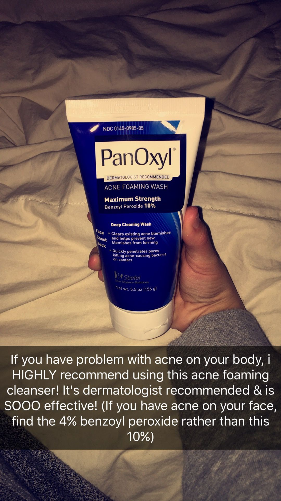 Panoxyl Acne Foaming Wash #acnebodywash, | skin care in 2019