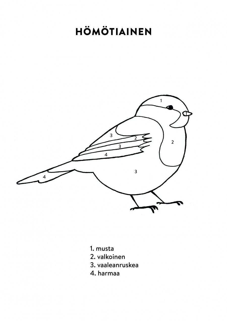 1490357967 Homotiainen Jpg 900 1 273 Pikselia Colouring Pages Mosaic Birds Arts And Crafts For Kids