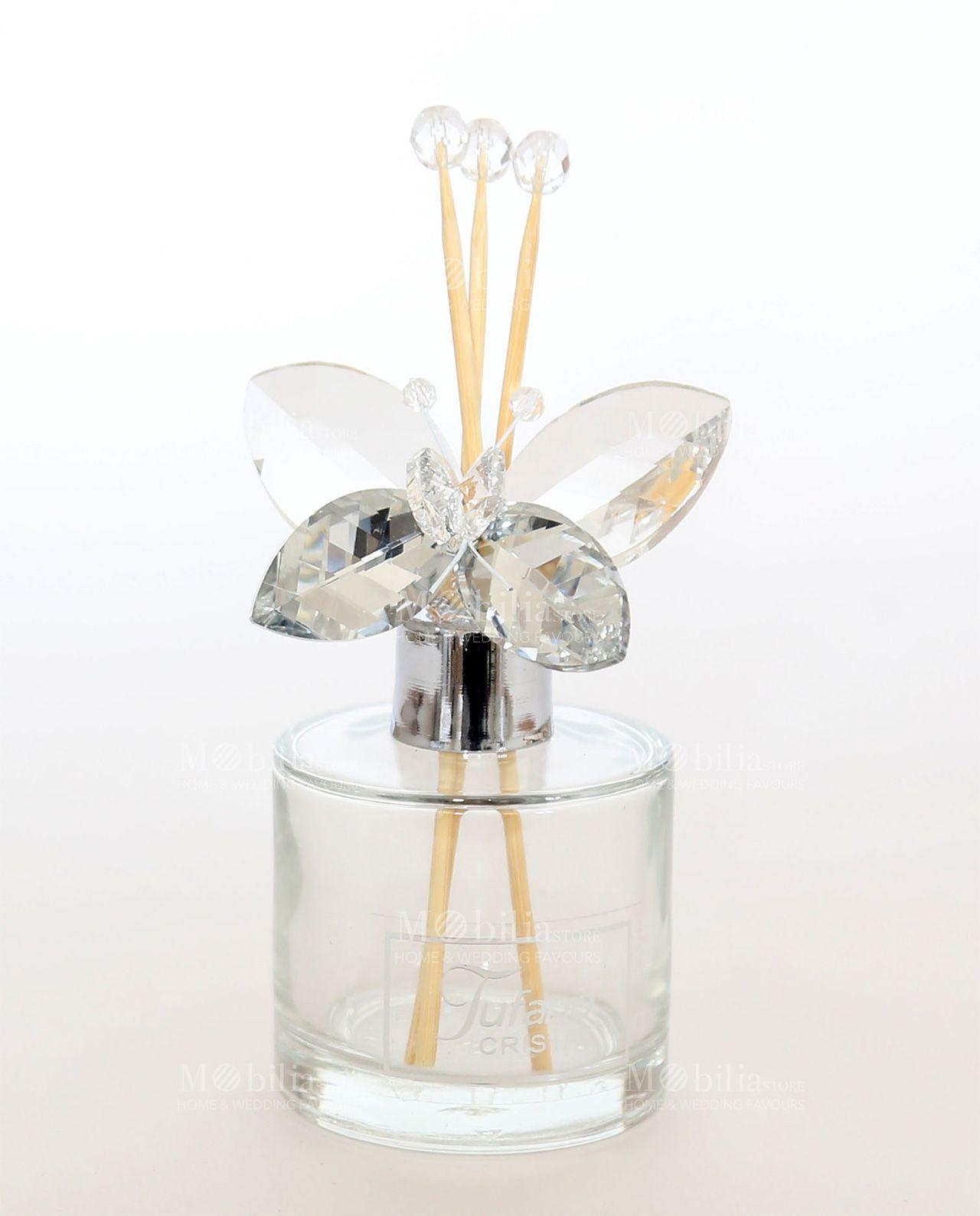 086a0426668d4c Profumatori ambiente Farfalla Swarovski Tufano, perfetti anche come  bomboniere. Eccezionali sconti Online su Mobilia