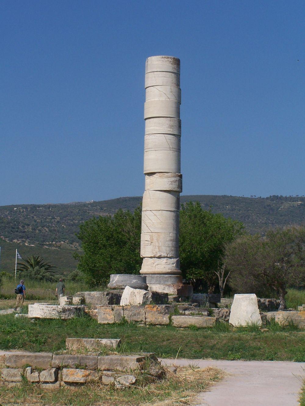 Temple Of Hera Samos Samos Ephesus Unesco World Heritage Site