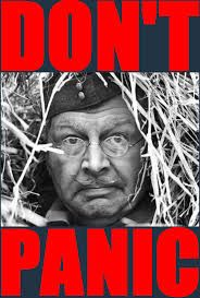 Image result for don't panic mr mannering