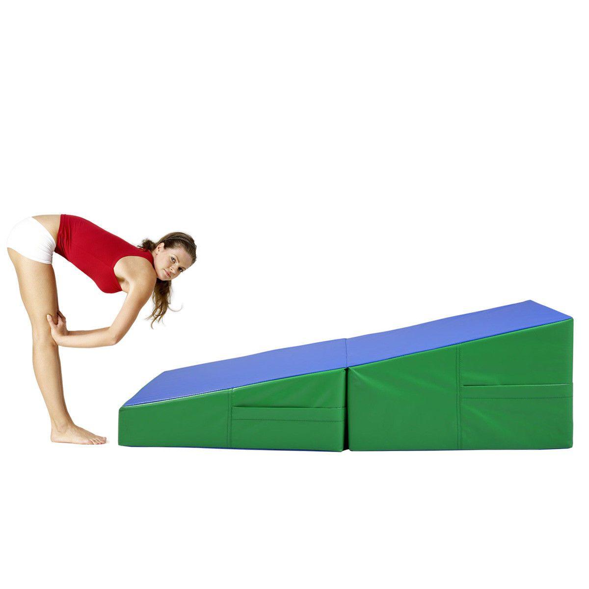x best choice com mat tumbling cheese wedge mats cheap superonlinesaver products incline shape gymnastics folding skill