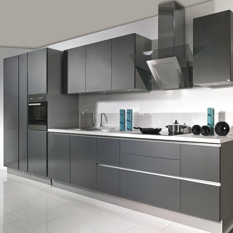 bredenauer einbauk che stratos in schwarz k che. Black Bedroom Furniture Sets. Home Design Ideas