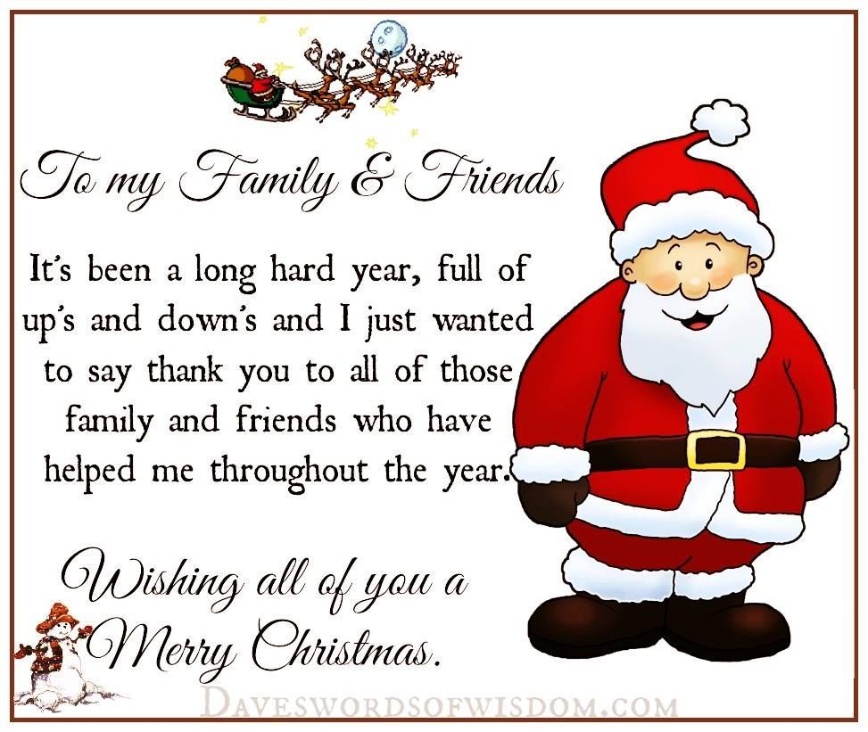 Christmas Quote To My Family And Friends Pictures Photos And Images For Fac Christmas Quotes For Friends Merry Christmas Quotes Family Merry Christmas Quotes