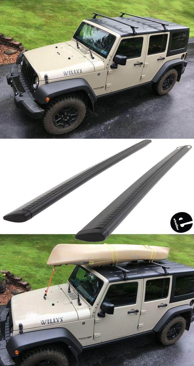 Thule Wingbar Evo Crossbars Aluminum Black 60 Long Qty 2