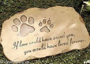 /</<VISIT MY SHOP/>/> s a beloved pet cat//dog memorial stone garden ornament