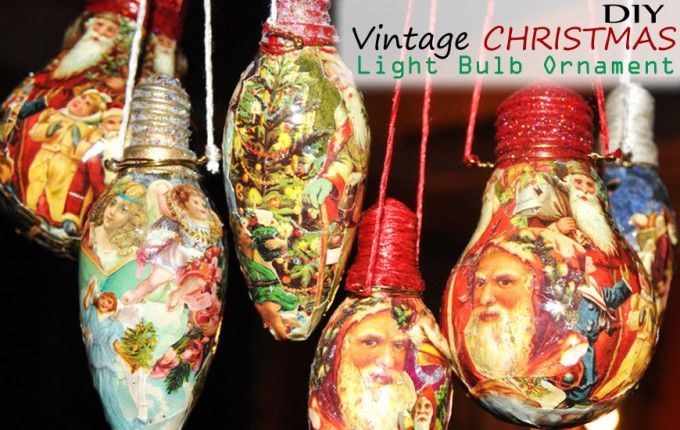 35 Clever Craft Ideas Using Light Bulbs Christmas Bulbs