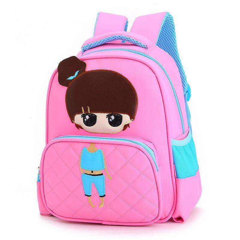 Cartoon Princess Girls School Portfolio Children School Bag For Boy  Waterproof Kindergarte Backpack Kids Satchel Mochila 11537461dd184