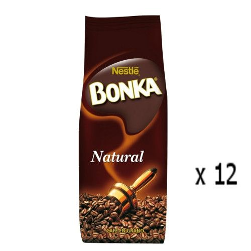 Café Bonka en grain naturel 250 Grs - Lot 12