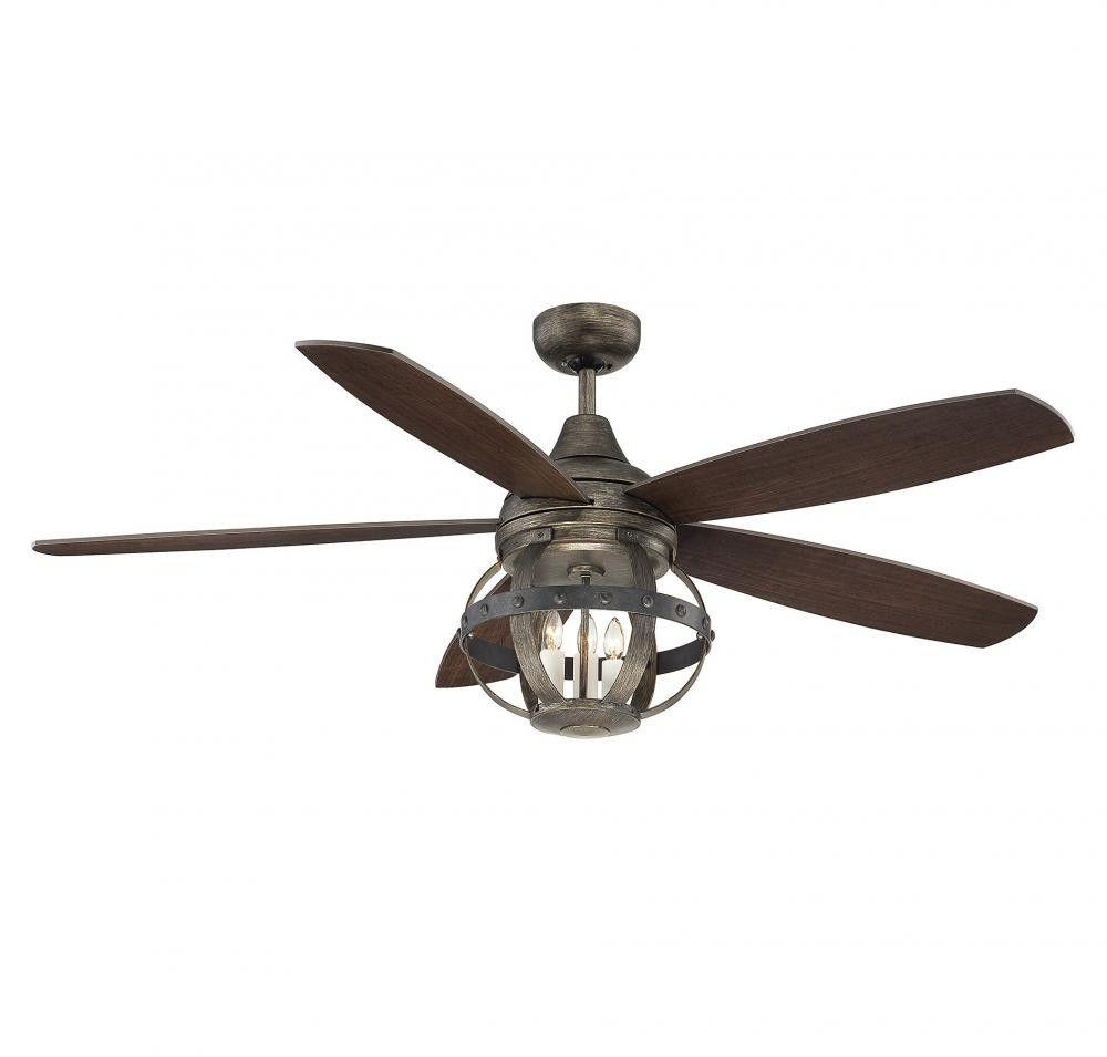 Reclaimed Wood Ceiling Fan Ceiling Fan With Remote Ceiling Fan Rustic Ceiling Fan