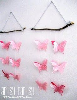 Butterfly Wall Hanging Wall Hanging Crafts Butterfly Wall