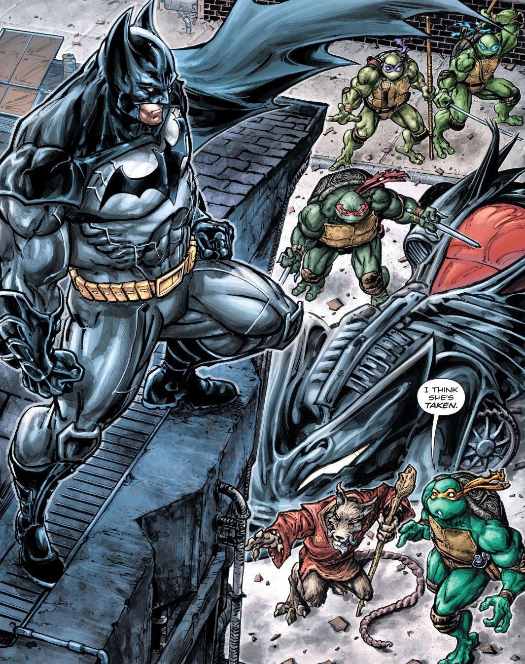 Batman/Teenage Mutant Ninja Turtles #1 - \