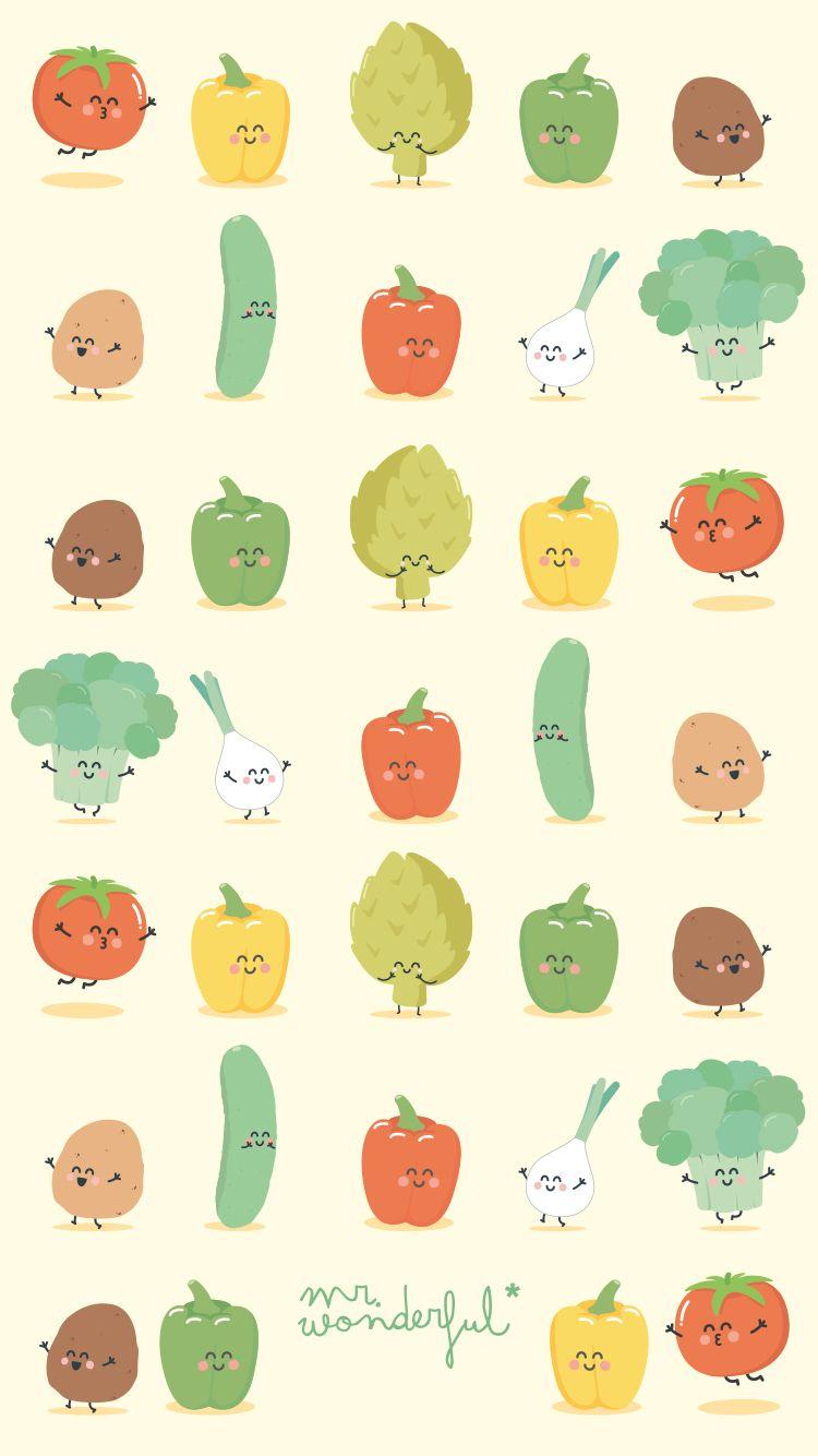 Legumes mr wonderful padrao mrwonderful wallpapers for Mr wonderful fondos movil