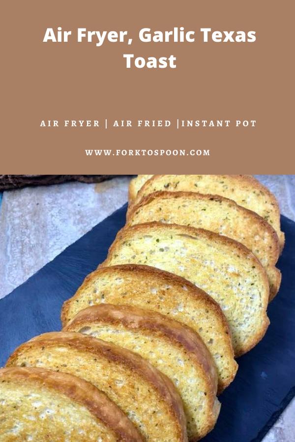 Air Fryer, Garlic Texas Toast Recipe in 2020 Texas